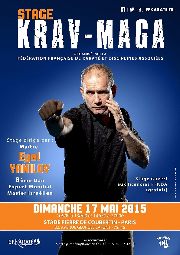 Stage_International_KravMaga_170515_Affiche
