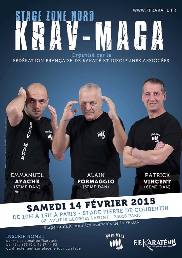 Stage_National_Krav_Maga_100215_Affiche